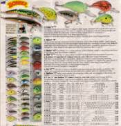 Catalog page describing crankbaits