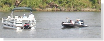 The check in boat