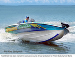 Keel Shield wrapped Triton TR21X with Pro Ray Sedgwick