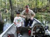 Ricky and Brian enjoying a day at Chicot Lake.