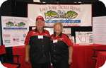 Connie and Killer at the 2006 ICast Show