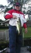 Ricky with a nice bass.