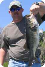 A nice bass from the Great Butler Chain of Lakes