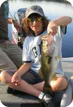 John's Lake has great bass fishing