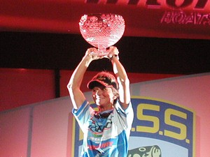 Legend Boats' Lady Pro Angler Pam Martin Wells WBT Champion