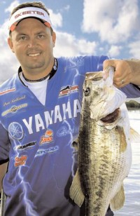 July 20, 2007 - Dan Rodlund of Spring Hill, Kansas is a professional angler on the FLW Stren Series - Central Division.
