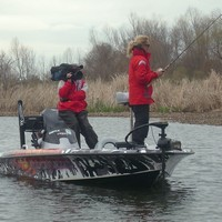 Kim Bain-Moore the first woman to fish the Bassmaster Classic