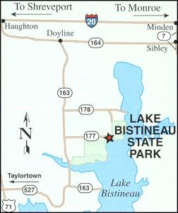 Travel Map to Bisteneau
