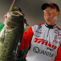 Gary Klein is in 4th place in the Bassmaster Angler of the Year Race