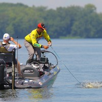 points leader heading into the Rayburn event is Bassmaster Elite Series pro James Niggemeyer