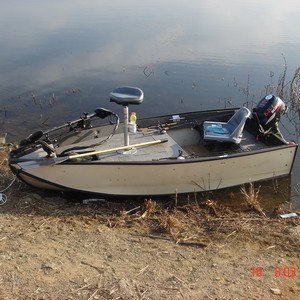 Minature Bass Boat for small waters