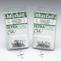 Mustad Treble Hook designed by KVD