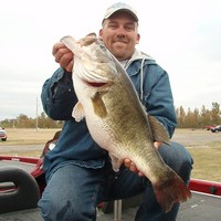 12.24 pound Red River Bass