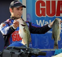 Justin Lucus, Evirude Team Professional Angler