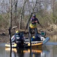 Randall Tharp at the 2011 Bassmaster Classic