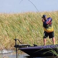 Team Evinrude angler Randall Tharp