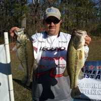 American Bass Anglers on Cross Lake