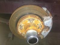 Brake Hub and Rotor