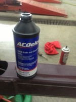 Boat Trailer Brake fluid