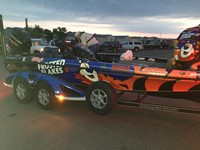 Frosted Flakes FLW Boat