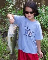 Young Lady out fished everyone