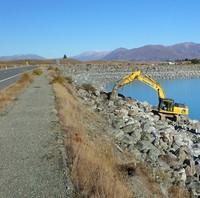 Riprap Dam