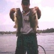 Craig with a couple of jig fish