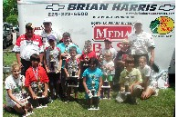 Winners at Kids Fishing Day