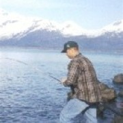 Jason fishing in Alaska