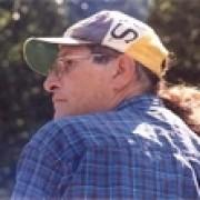 The author gazing across the Kankakee