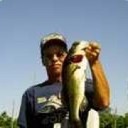 Don Chalmers (kickinbass) with a nice largemouth.