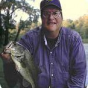 Fishaholic with a bass that answered the anglers question