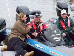 Day1 Leader Bassmaster Classic 2007 Birmingham, Alabama - Boyd Duckett - Photo by Joseph Pepper