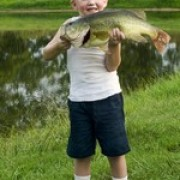 At least a five pound bass! What a great birthday present!