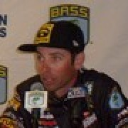 Mike Iaconelli in the news conference