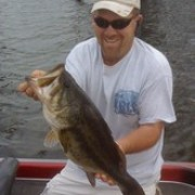 9 Pounds 11 ounces from a hydrilla mat