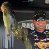 Greg Hackney on bassmaster stage
