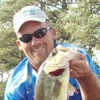 Mike Cork with a tournament winning bass