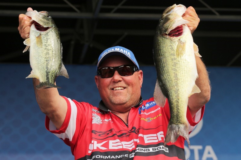 Matt Herren Leads Two-Lake Event