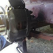 Boat Trailer Disc Brake System Inspection