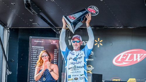 Morgan Claims Third FLW Tour Angler of the Year