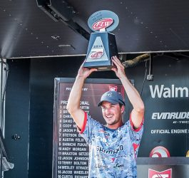 Johnston Earns FLW Tour Rookie of the Year