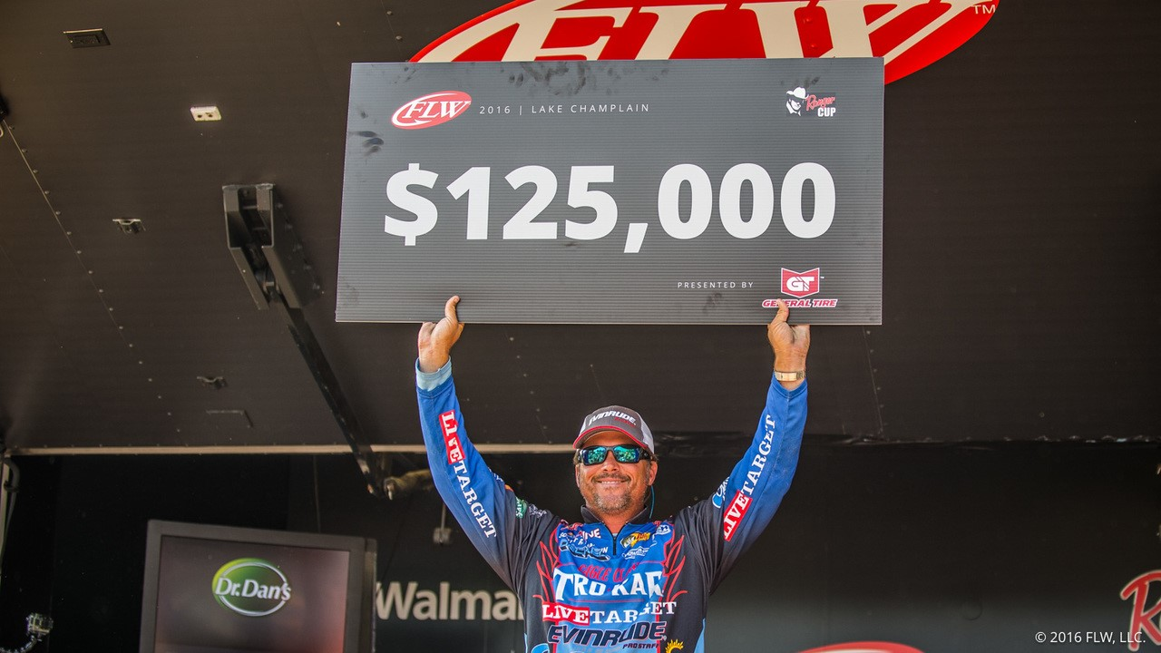Scott Martin Wins FLW Tour Lake Champlain