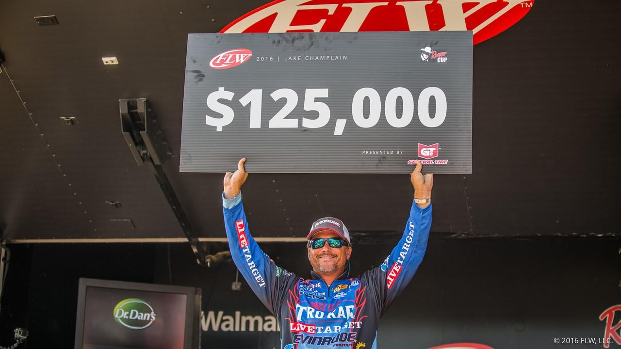 Scott Martin Wins FLW Tour Lake Champlain