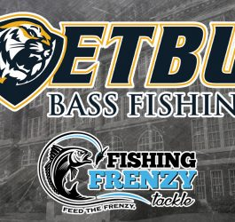 ETBU Fishing Team Signs with Fishing Frenzy Tackle