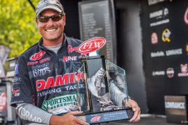 Bryan Thrift Wins FLW Tour on Lake Norman