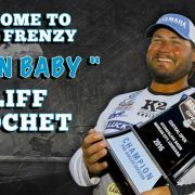 Cajun Baby Cliff Crochet Signs with Fishing Frenzy Tackle