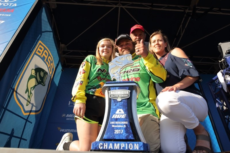 Horton Wins Bassmaster Elite On Lake Okeechobee