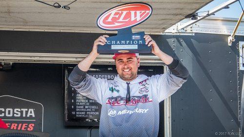 Schlander Wins Costa FLW Series on California Delta
