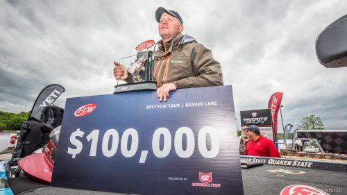 McCombs Wins FLW Tour at Beaver Lake